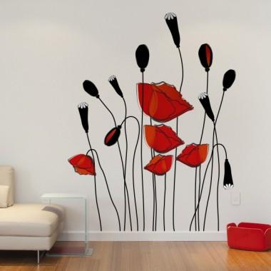 Floral Campestre I imagen vinilo decorativo