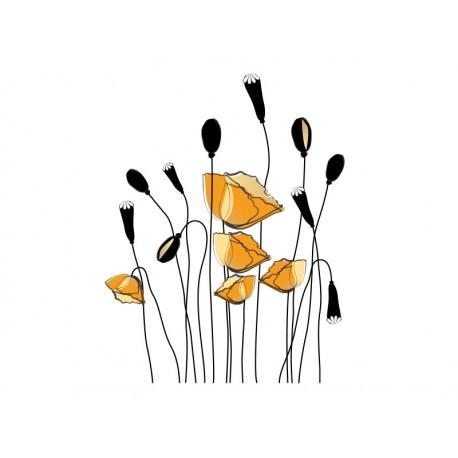 vinilos imagen producto Floral Campestre III