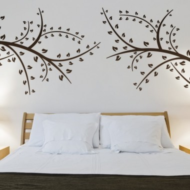 Rama Motivo III adhesivo decorativo ambiente