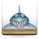 vinilos imagen producto Tiburón Baja la Tapa
