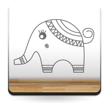 Vinilo Elefante bantu-vinilos-decorativos