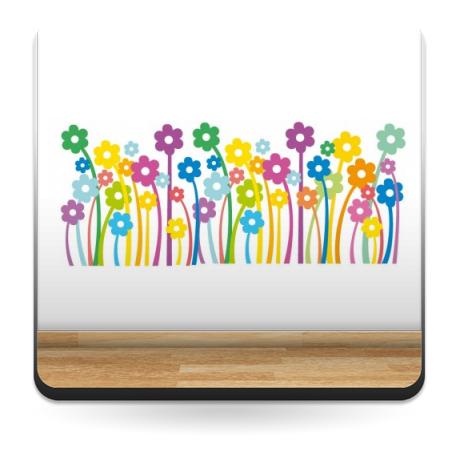 Flower Power producto vinilos