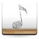 Nota Con Instrumentos imagen vinilo decorativo