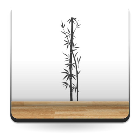 Bambú Decoración para Pared imagen vinilo decorativo
