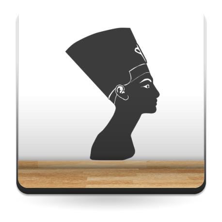Egipcia Silueta para Pared producto vinilos