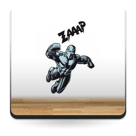 Superheroe Ice Metal para Cabecero decoración con vinilo