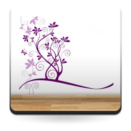 vinilos imagen producto Flores Corazones para Escaparate