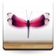 Mariposa Púrpura Escaparate decoración con vinilo