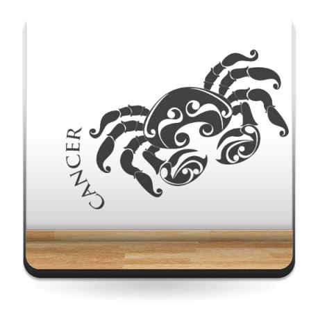 Horóscopo Cancer I decoración con vinilo