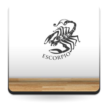 vinilo decorativo Horóscopo Escorpio I