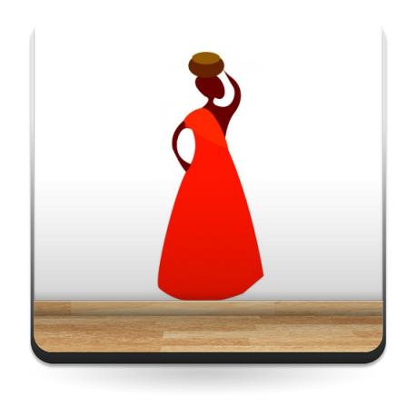Zambia Mujer I producto vinilos