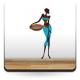 Madagascar Mujer II imagen vinilo decorativo