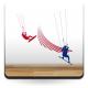 adhesivo decorativo Kite Surfing Composición