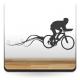 Ciclismo adhesivo decorativo ambiente