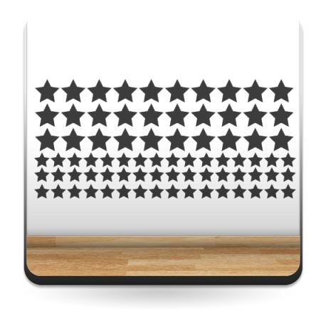 Estrellas Decoración Vehículo decoración con vinilo