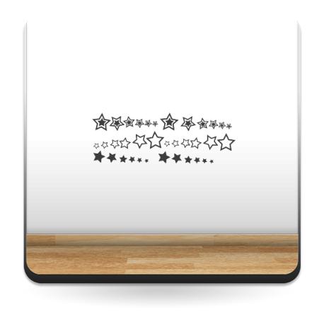 Estrellas I Decoración Vehículo producto vinilos