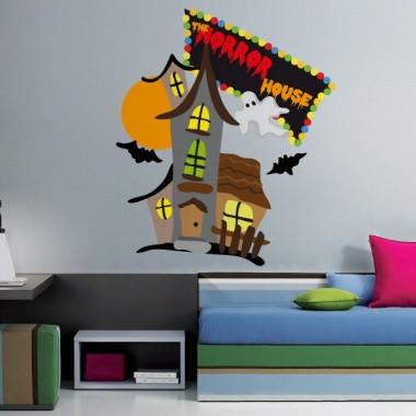 The Horror House Ferias decoración con vinilo