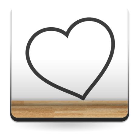 Amor para Cabecero imagen vinilo decorativo