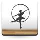 pegatina pared Bailarina Ballet
