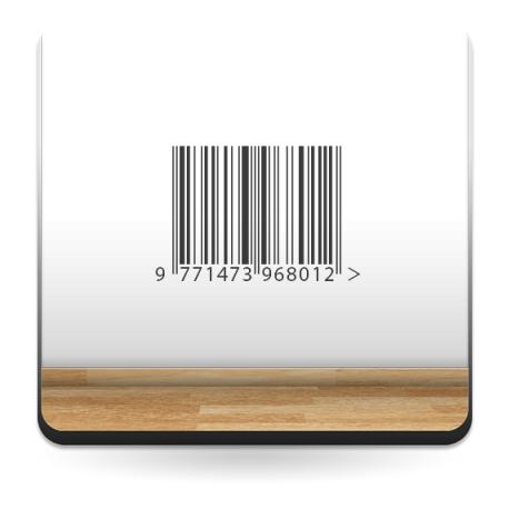 adhesivo decorativo Código de Barras