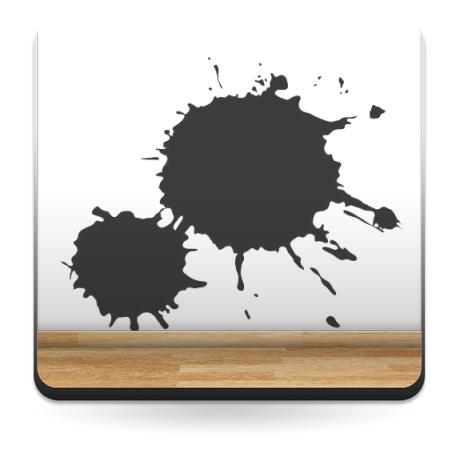Mancha Pintura 1 decoración con vinilo
