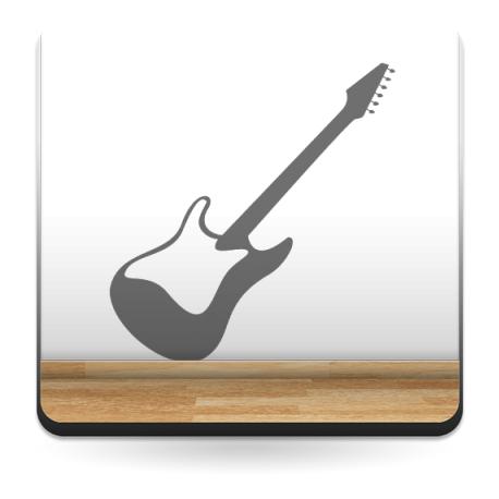 vinilo decorativo Guitarra 1