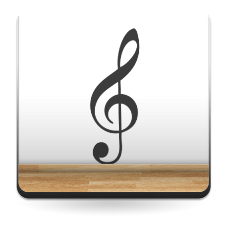 Clave de Sol Notas Musicales imagen vista previa