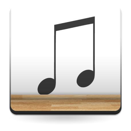 Corchea Notas Musicales producto vinilos
