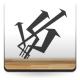 pegatina decorativa Flechas Locas