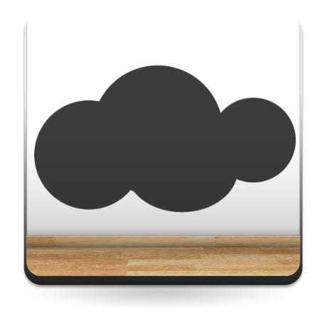 Nube Dulces Sueños decoración con vinilo