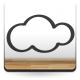 pegatina decorativa Contorno de Nube Dulces Sueños