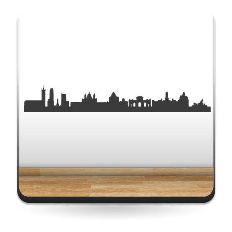 Skyline Madrid producto vinilos