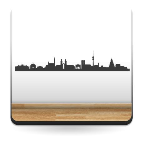 vinilos imagen producto Skyline Munich