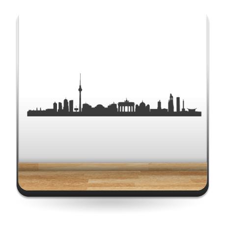 Skyline Berlín imagen vista previa