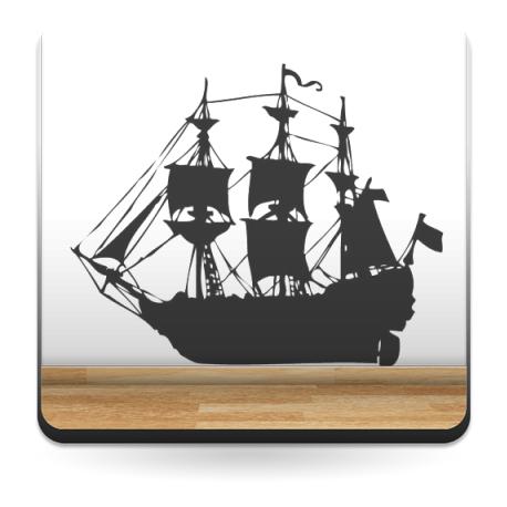 vinilo decorativo Barco Motivo I