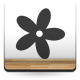 Florecilla imagen vinilo decorativo