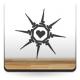 Corazón Espinado adhesivo decorativo ambiente