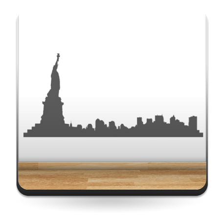 adhesivo decorativo Skyline Manhattan