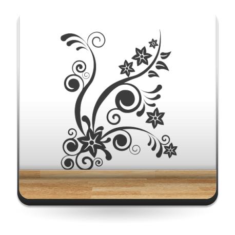 Fantasía Hawaiana decoración con vinilo