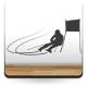 adhesivo decorativo Esquí Slalom
