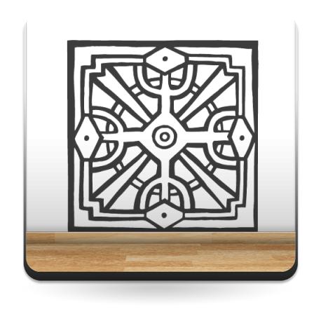 Tribal Motivo I decoración con vinilo
