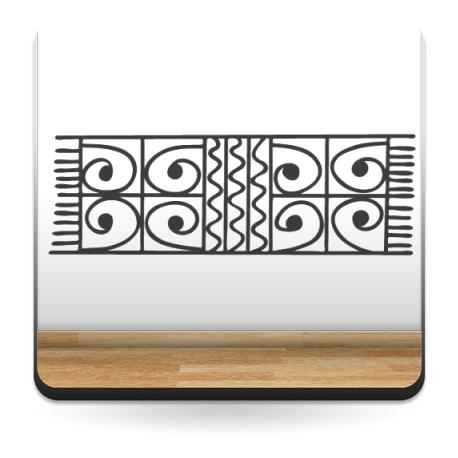 Tribal Motivo II adhesivo decorativo ambiente