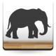 vinilo decorativo Elefante Motivo I