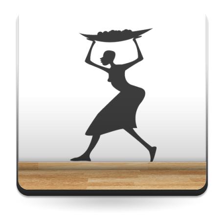 adhesivo decorativo Mujer Motivo II