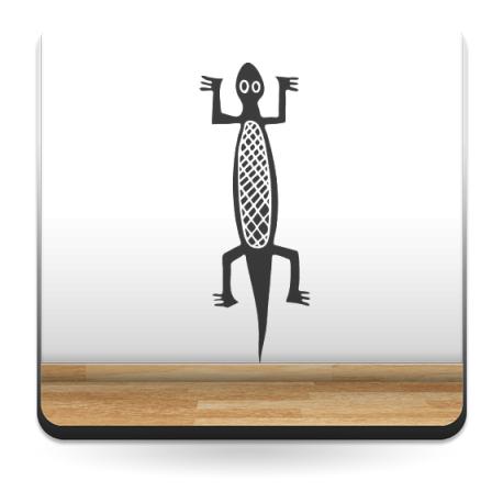 Salamandra Motivo producto vinilos