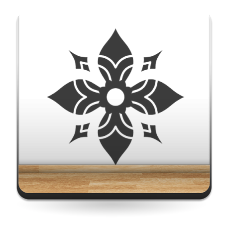 Tribal Motivo VIII decoración con vinilo