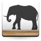 pegatina decorativa Elefante Motivo II