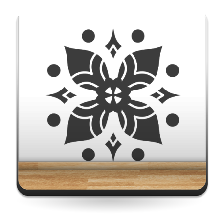 pegatina pared Tribal Motivo IX