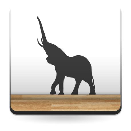 Elefante Motivo III adhesivo decorativo ambiente
