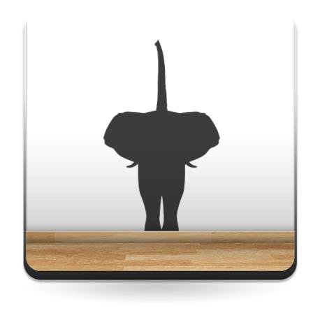 vinilo decorativo Elefante Motivo IV